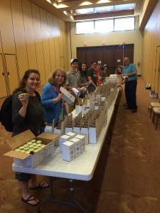 Yom Hashaoh candle Packing 2016